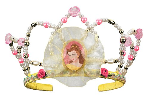 [Disguise Disney Beauty and The Beast Belle Tiara Costume Accessory] (Beauty And The Beast Costume Belle)