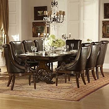 This Item Homelegance Orleans 9 Piece Double Pedestal Dining Room Set In  Rich Dark Cherry