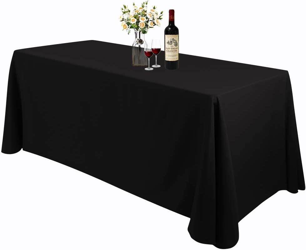 """6 pcs 90/""""x132/"""" Polyester Tablecloths Wedding Party Table Linens Home Kitchen"""