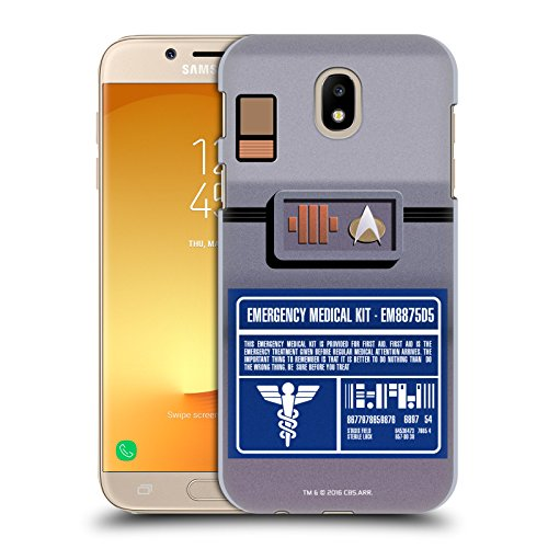 Official Star Trek Medical Kit Gadgets TNG Hard Back Case for Samsung Galaxy J7 2017 / Pro