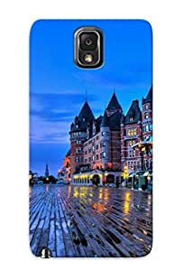 IOktASI5696Jallw Chateau Frontenac Quebec Fashion Tpu Case Cover For Galaxy Note 3, Series