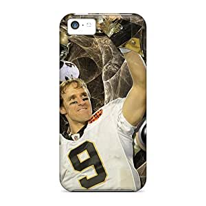 Fashion Protective New Orleans Saints Cases Covers For Iphone 5c hjbrhga1544
