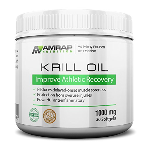 AMRAP Nutrition Omega Krill softgels