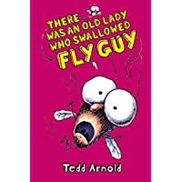 There Was an Old Lady Who Swallowed Fly Guy (Fly Guy #4)