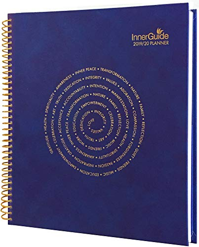 Daily Planner 2019-2020 Hourly - Dated July 2019- June 2020 - Hardcover - InnerGuide