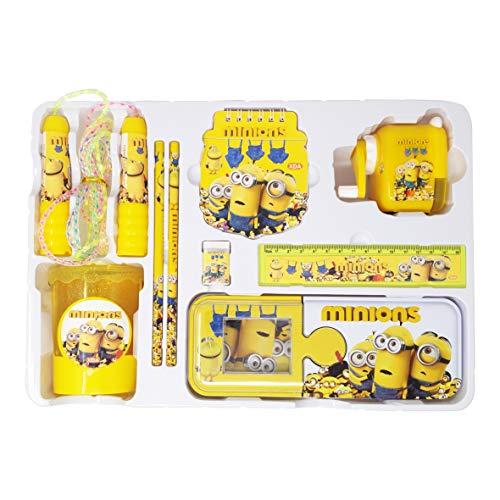 Parteet® Mix Stationary kit Set for Kids(Minion)