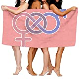 HSs4AD Neuroscience Of Sex Differences GraphicBath Towel Sports Beach Pool Super Soft Highly Absorbent Washcloth