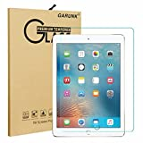 New iPad 9.7 (2017 Release) / iPad Pro 9.7 / iPad Air 2 / iPad Air Screen Protector, GARUNK Tempered Glass Screen Protector [9H Hardness] [Crystal Clear] [Scratch Resist] [Bubble Free Install] for Apple iPad 9.7 2017/Pro 9.7 2015/Air 2/ iPad Air 9.7-inch