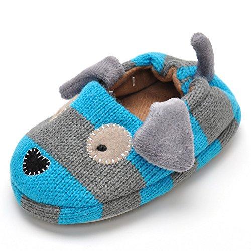 Zapatillas de perro para niños, Suela de goma antideslizante