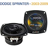 Fits Dodge Sprinter 2003-2009 Factory Speaker Replacement Harmony R4 Package New