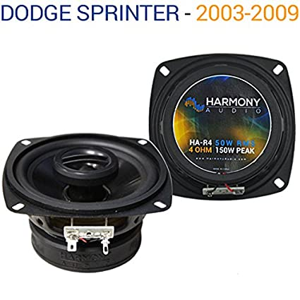 Compatible with Dodge Sprinter 2003-2009 Factory Speaker Replacement  Harmony R4 Package New