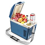 Housmile Thermo - Electric Cooler and Warmer Car Refrigerator Portable Mini Fridge, DC 12V, 7 Liter
