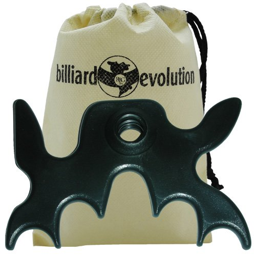 Imperial Billiard/Pool Cue Accessory: Slip-On/Portable Moosehead Bridge Head, Plastic ()