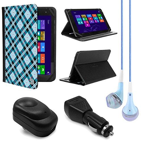 Vangoddy Mary 2.0de pie portafolios Funda para Sony Xperia Z4Tablet de 25.7cm con USB de pared & cargador de casa y...