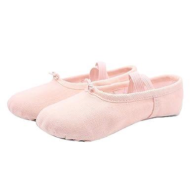 Zapatillas De Ballet,Niña Y Mujer,Zapatillas De Ballet,Lona ...