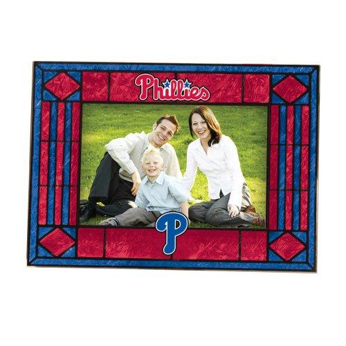 - MLB Philadelphia Phillies Art Glass Horizontal Frame