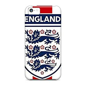 Fashion Cases For Iphone 5c- England 3 Lions Defender Cases Covers