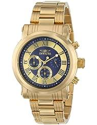 Invicta Mens 15217 Specialty Analog Display Japanese Quartz Gold Watch