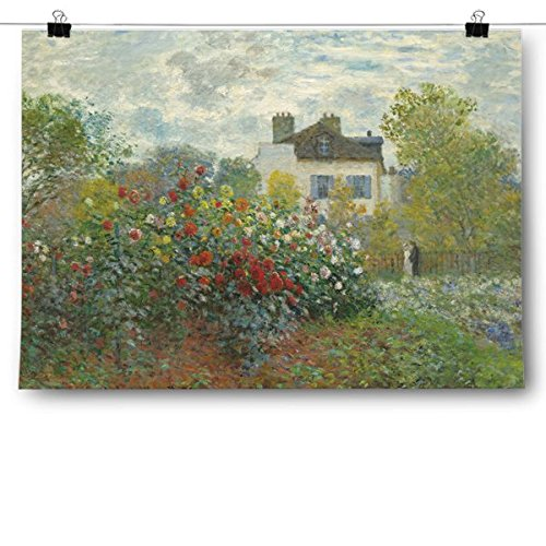 Inspired Posters Claude Monet - The Artist's Garden Poster Size 8x10