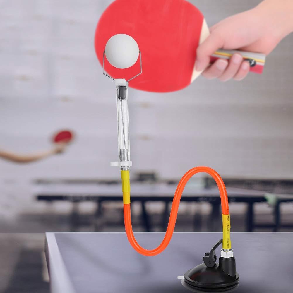 PVC Einstellbarer Tischtennisball Sucker Trainer Zubeh/ör Aeloa Tischtennis Trainer Fest Schneller Rebound Ping Pong Ball-Maschine