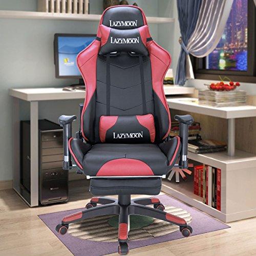 51f6UEGzPtL - JAXPETY-High-Back-Swivel-Computer-Chair-Racing-Chair-Gaming-Chair-H-wHeadrest-Lumbar-Support