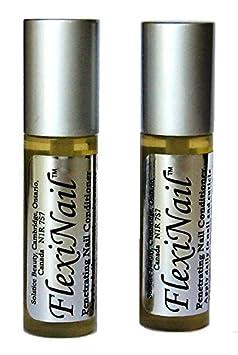 FlexiNail Fingernail Conditioner 2 Bottles – 3 month supply 2 Bottles