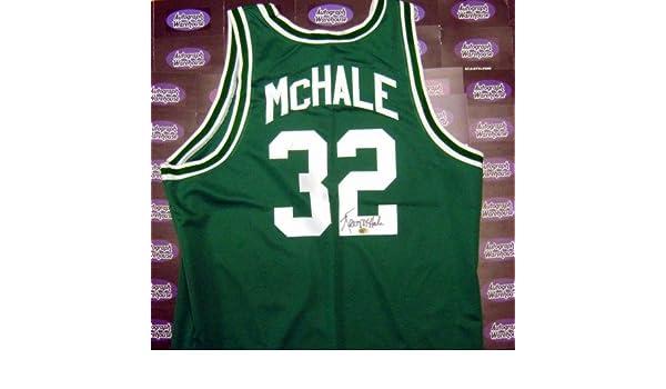 low priced 8989e 650d9 Kevin McHale autographed Jersey (Boston Celtics Basketball ...