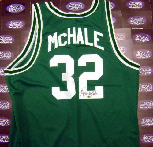 Kevin McHale autographed Jersey (Boston Celtics Basketball Uniform Top) AW Certificate of ()