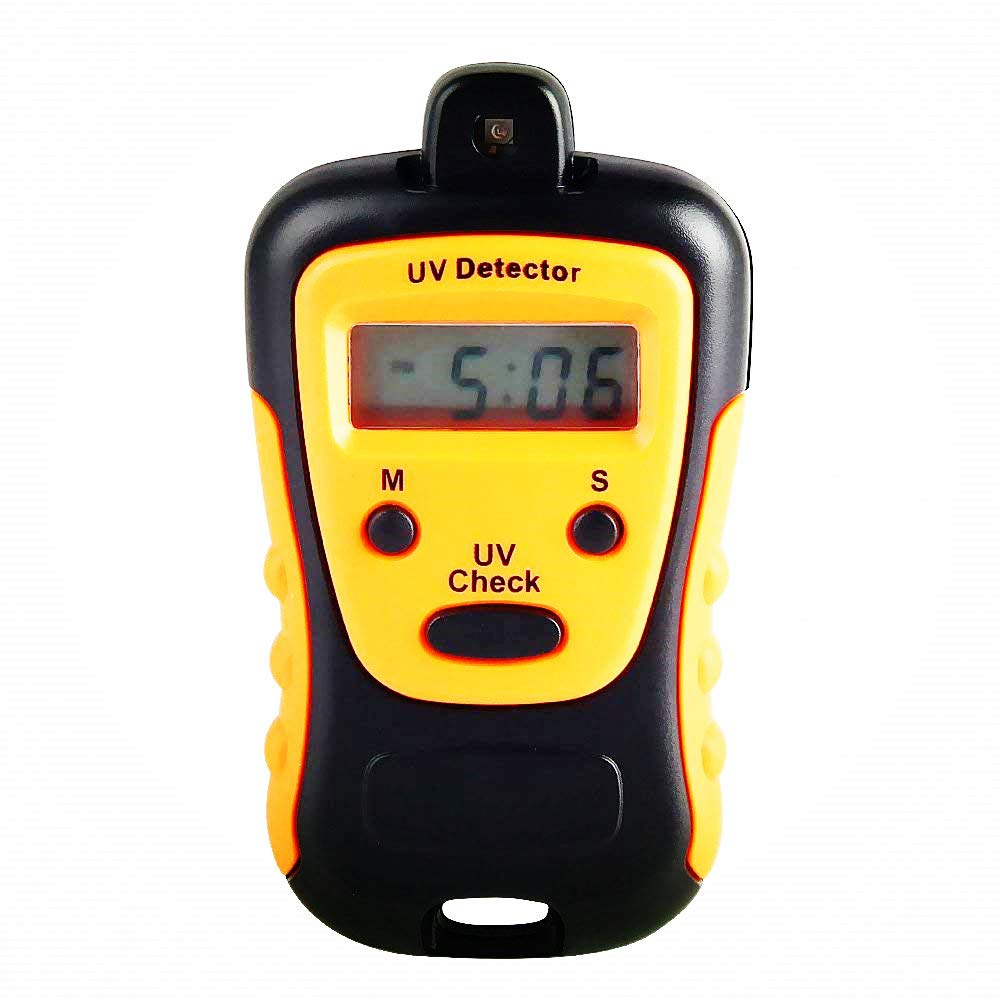 ELEOPTION High Precision UV Strength Tester UVA UVB Meter Photometer UV Detector Hand-held LCD Display for Outdoor Sunlight for Sunglasses UV Strength Tester by ELEOPTION