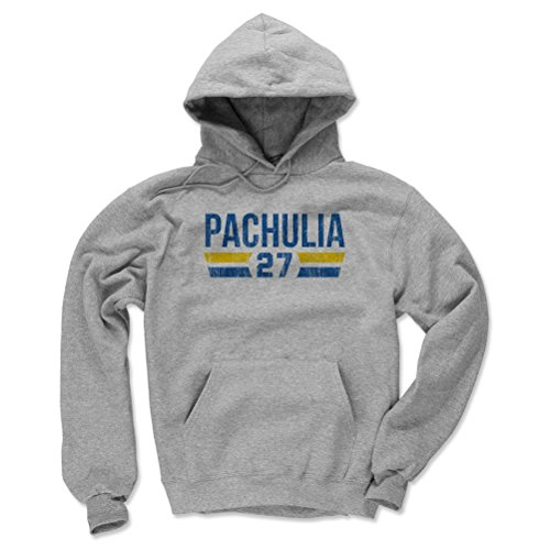 500 Level Golden State Basketball Mens Hoodie   Large Gray   Zaza Pachulia Golden State Font B
