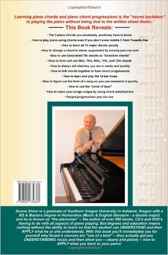 Piano Chords & Progressions:: The Secret Backdoor to