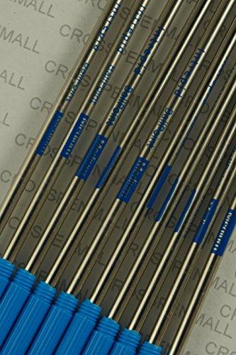 (10 Genuine and Branded Intrepid Medium Ballpoint Refills for Cross Ballpoint Pens. Protective seal on tip for shelf life Longevity (Bulk Pack) (BLUE))