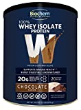 Biochem Sports Whey Protein Isolate Powder Chocolate – 1.9 lb For Sale