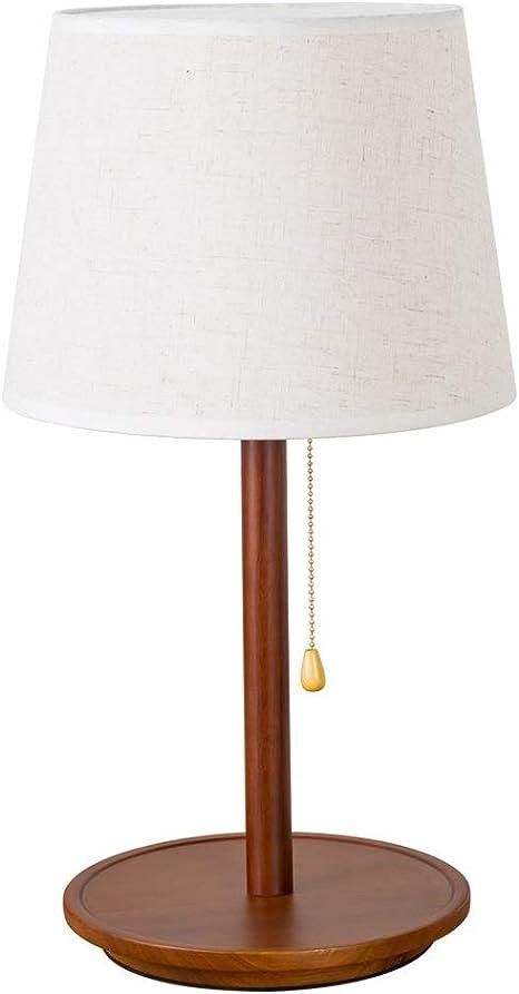 sélection spéciale de mode designer boutique pour officiel Dkdnjsk Abat-jour En Lin Abat-jour Lampe De Table En Bois ...