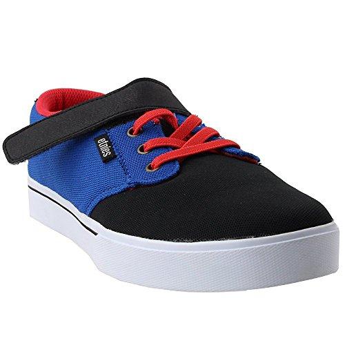 Etnies Shoes Kids Unisex-Kids Jameson 2 V Skate Shoe, Black/Blue/White, 6C Medium US Big Kid