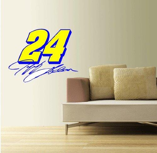 Jeff Gordon Nascar Racing Wall Decal Sticker 25'' x 19'' (Jeff Gordon Wall)