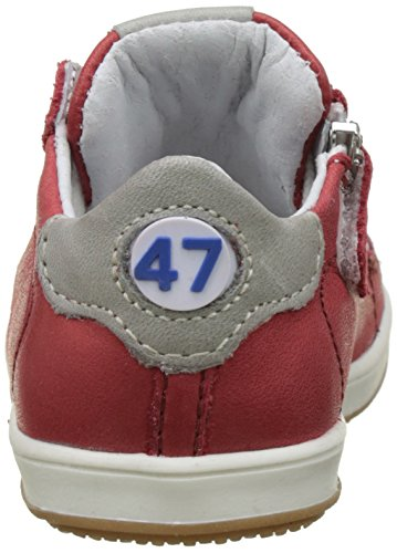 Little Mary 49092174, Zapatos de Primeros Pasos Bebés Rojo (Sauvage Corail)