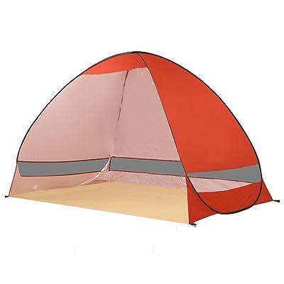 QFFL zhangpeng Tente entièrement automatique Double Tente Extérieure Sunscreen Plage Ombre Tente Ouvert Rapide Pêche Hangar 8 Couleurs En Option tente de cervelet