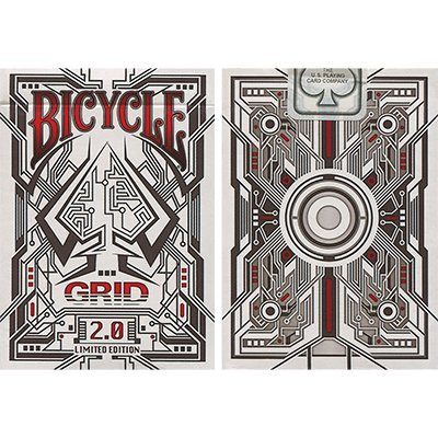 Bicycle Grid 2.0 Red Limited Edition by Gamblers Warehouse - Trick