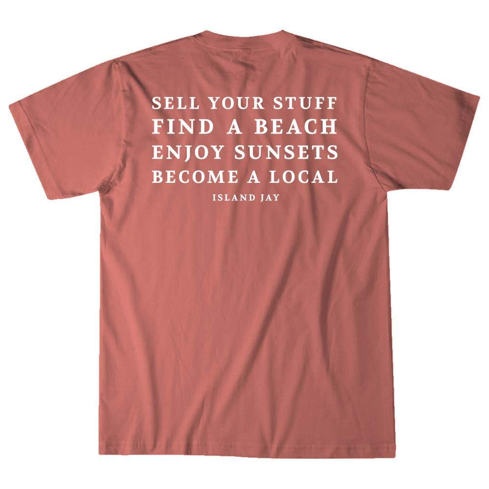Island Jay Sell Your Stuff /& Become a Local T-Shirt