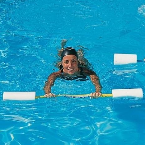 Piscina Epsan instrucciones resistencia flotadores Barbell Multi nadar entrenador: Amazon.es: Deportes y aire libre