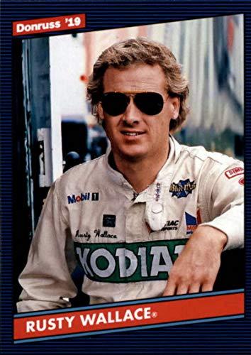 (2019 Donruss #156 Rusty Wallace Retro 1986 Kodiak/Raymond Beadle/Pontiac Racing Trading Card)