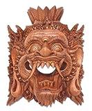 NOVICA Decorative Suar Wood Mask, Brown, 'Judge Of The Netherworld'