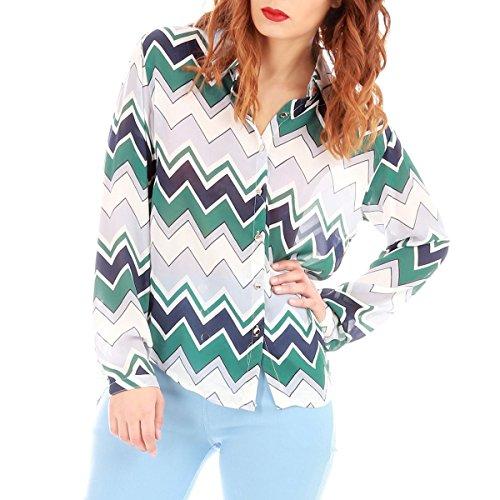 La Modeuse - Camisas - para mujer caqui
