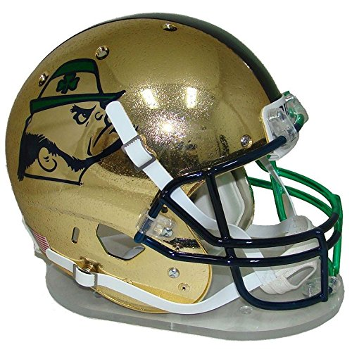 (Notre Dame Fighting Irish Shamrock 2015 Boston Officially Licensed Full Size XP Replica Helmet)