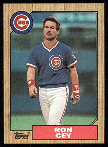 1987 Topps # 767 Ron Cey Chicago Cubs (Baseball Card) Dean's Cards 8 - NM/MT Ron Cey Baseball