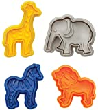 Mrs. Anderson's Baking Animal Cracker Cookie Cutters, Set of 4