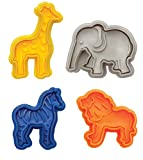 Mrs. Anderson's Baking Animal Cracker Cookie Cutters, Set of 4 Deal (Small Image)