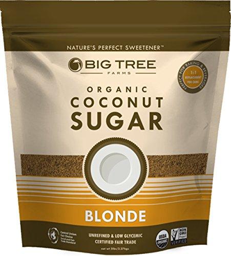 Big Tree Farms Organic Coconut Sugar Bag, 5 Pound