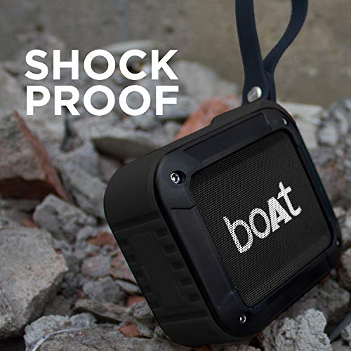 The shock free Bluetooth speaker.